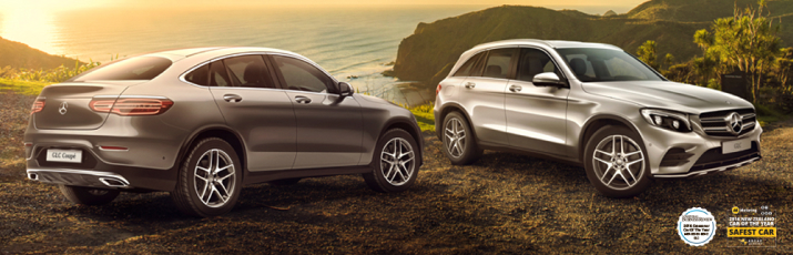 GLC SUV and Coupé  Hero Image